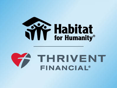 Habitat and Thrivent logos