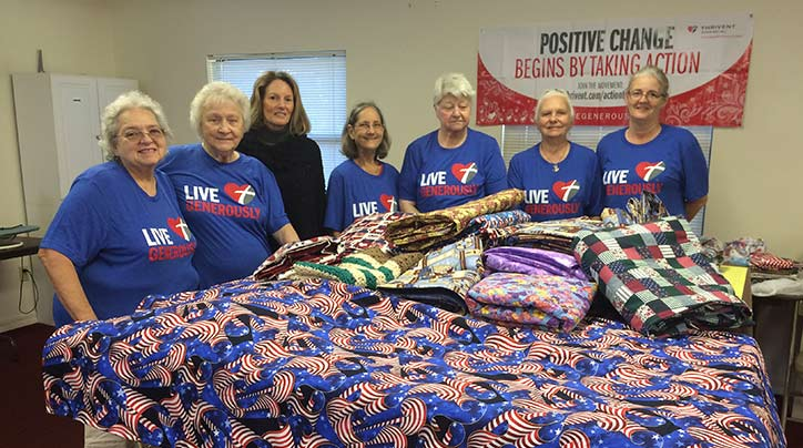 This tiny Florida church makes a huge impact on the lives of hospital patients and their families with their quilts ministry.