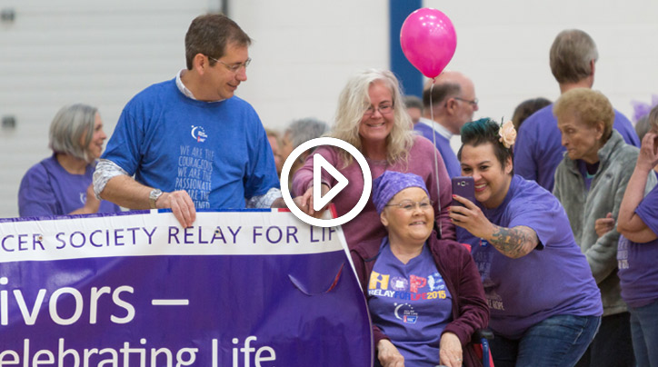 Attenders of  2017 Relay for Life event.