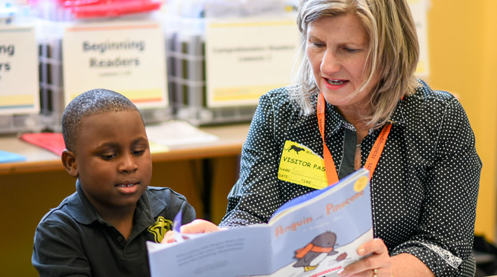 Thrivent members volunteer with Reading Partners to help kids thrive in school and life.