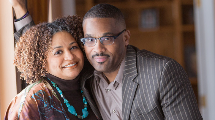 Tim and Jessica Jackson, pastors of Impact Living Christian Center in Minneapolis