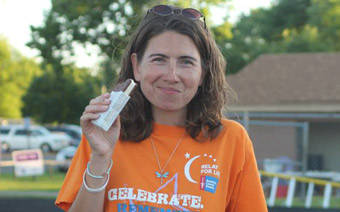 Julie Kneeland turns loss into a passion to fight cancer with fundraising