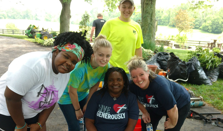 Apply to lead a Thrivent Action Team this summer to make a positive change in your local community.